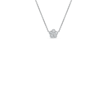18KT GOLD CLASSIC DIAMOND NECKLACE