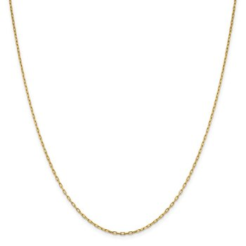 Leslie's 14K 1.6 mm Long Open Cable Link Chain