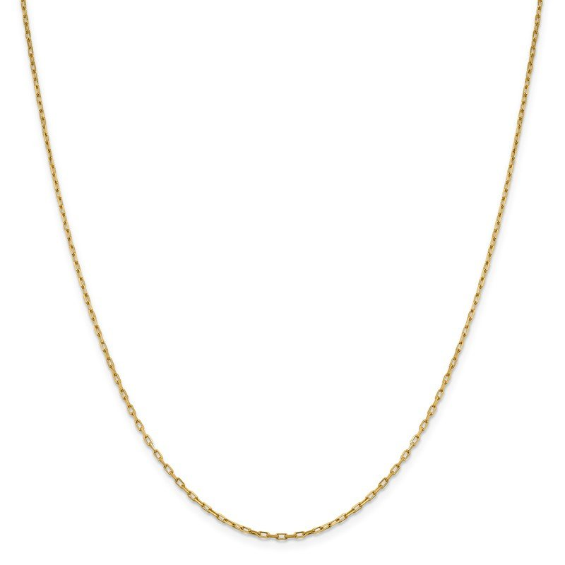 Leslie's Leslie's 14K 1.6 mm Long Open Cable Link Chain