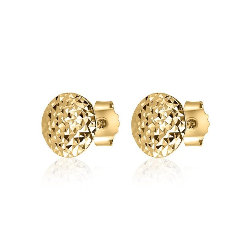 LARUS Jewelry Gold Stud Earrings