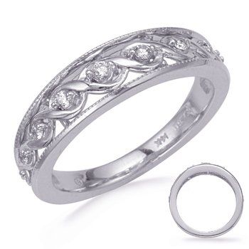 White Gold Diamond Wedding Band