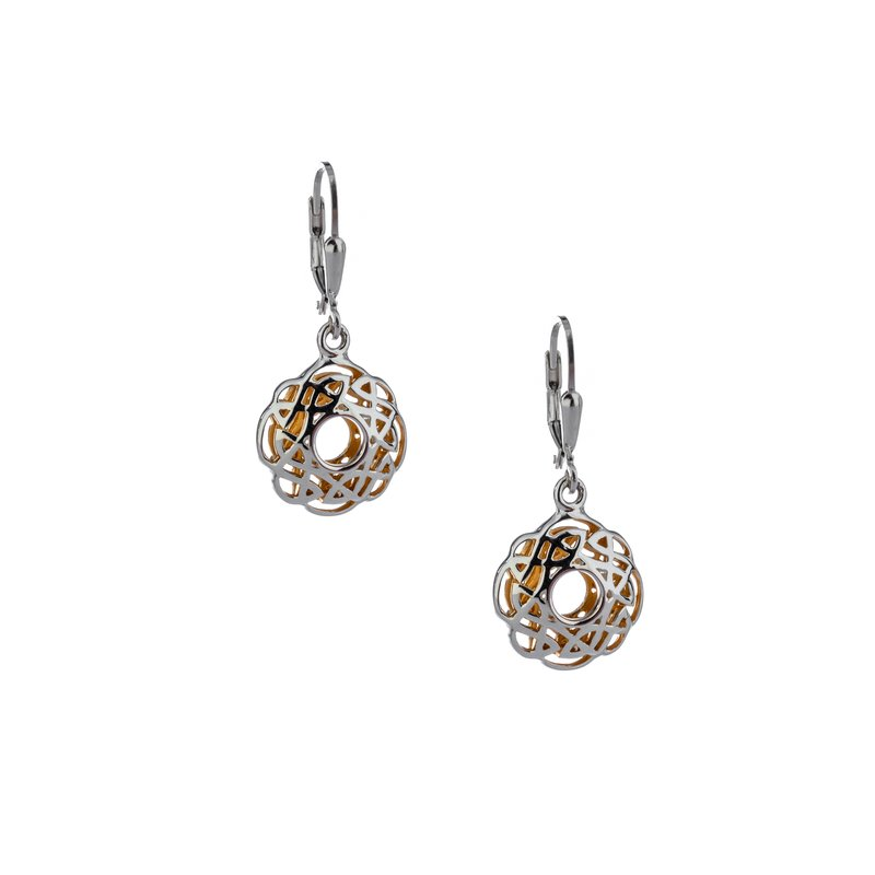 Keith Jack Window to the Soul Scalloped Earrings