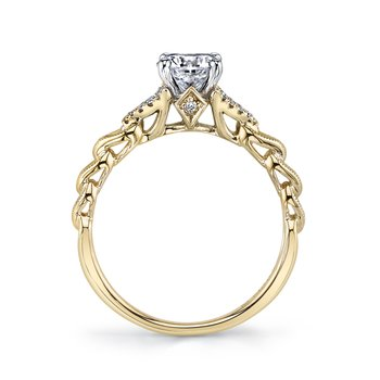 MARS Jewelry - Engagement Ring 25816YG