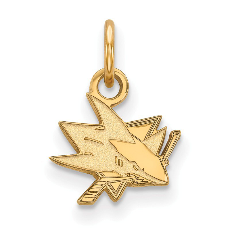 NHL Gold San Jose Sharks NHL Pendant