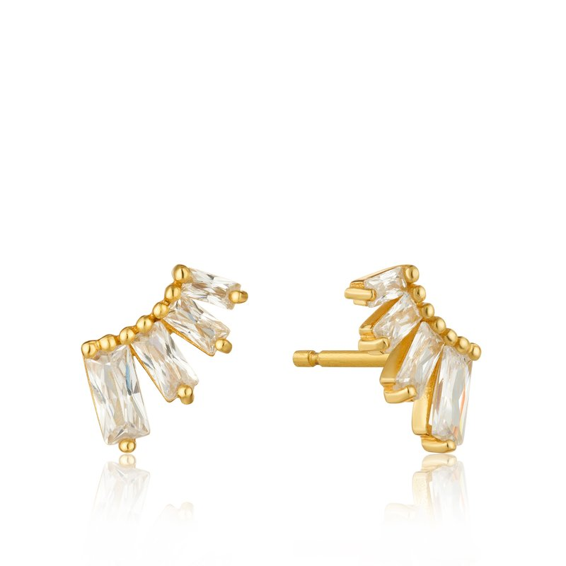 Ania Haie GLOW BAR STUD EARRINGS