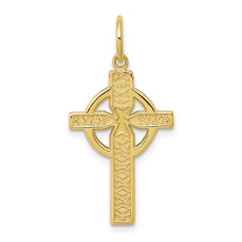 10K Iona Cross Charm