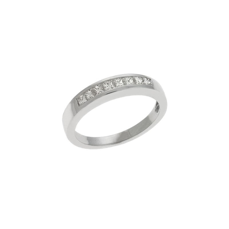 S. Kashi & Sons Bridal Matching Band In White Gold