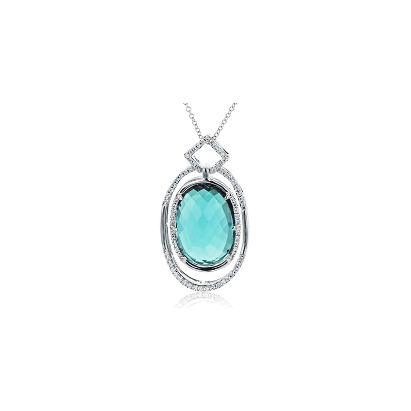 Simon G LP4544 COLOR PENDANT