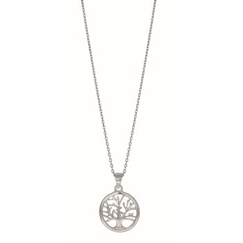 Silver Mini Tree of Life Necklace