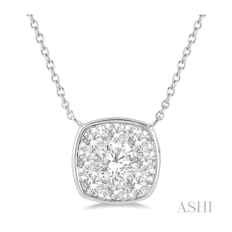 Gemstone Collection  lovebright essential diamond necklace