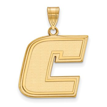 Gold-Plated Sterling Silver University of Tennessee at Chattanooga NCAA Pendant