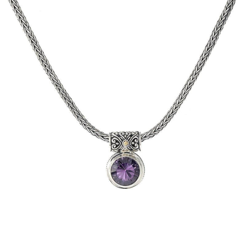 Samuel B Droplet Necklace