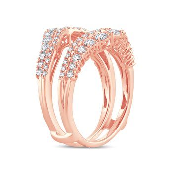 14K 1.00Ct Diamond Ring Guard