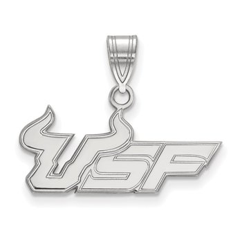 Gold University of South Florida NCAA Pendant