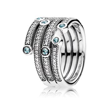 ad72dc118 David Arlen Jewelers: PANDORA Timeless Elegance Bangle, Clear CZ