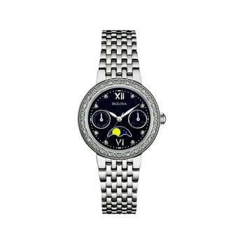 Bulova Ladies' Diamonds - Moon Phase