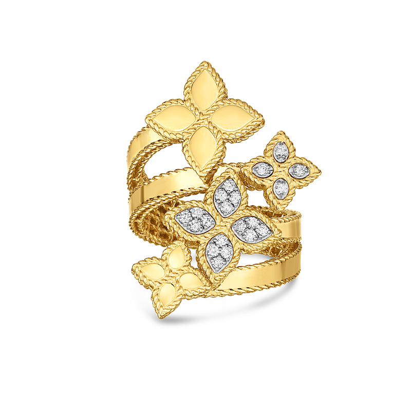 Roberto Coin Ring With Diamonds