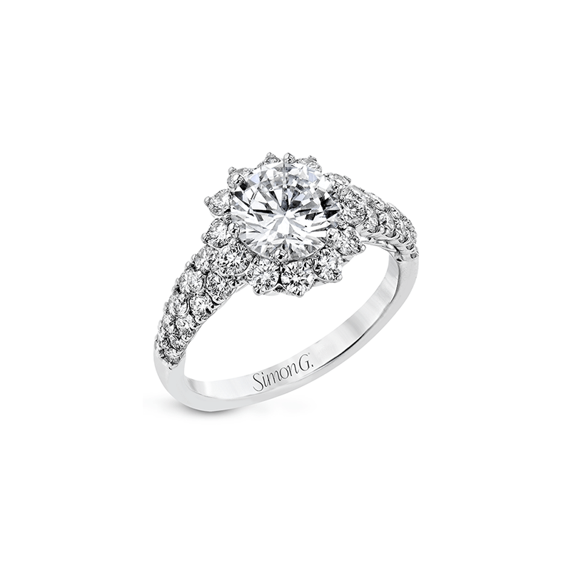 Simon G LR2487 ENGAGEMENT RING