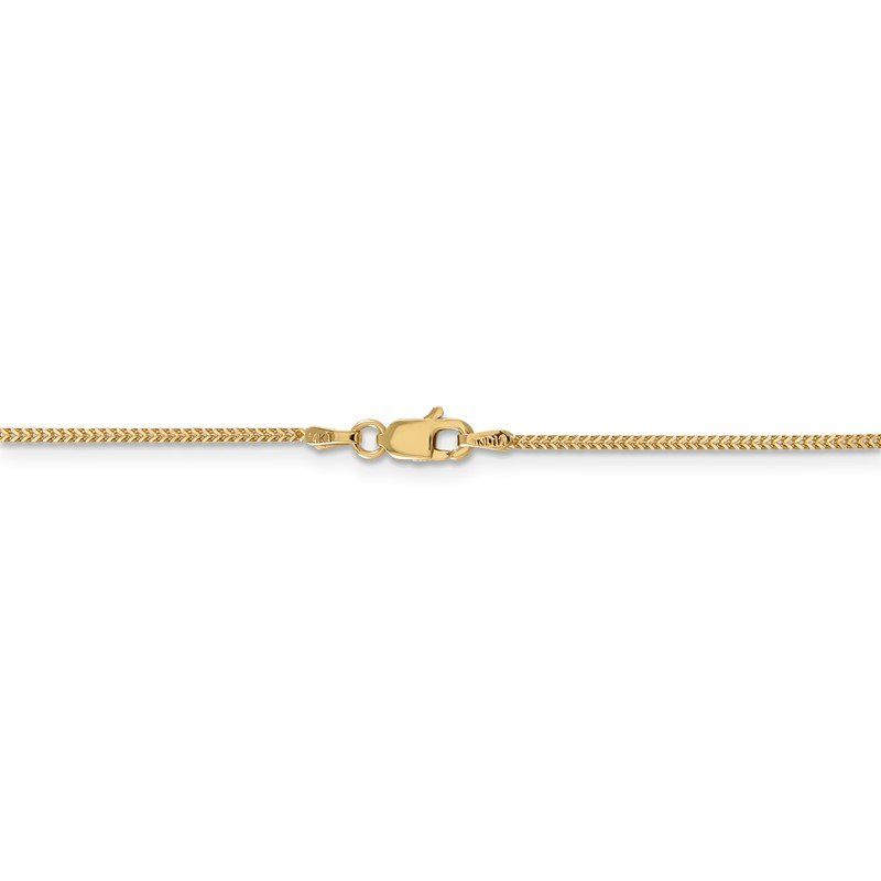 Quality Gold 14k .9mm Franco Chain