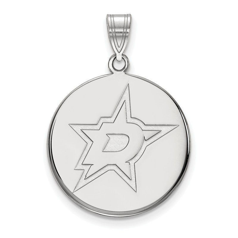 NHL Sterling Silver Dallas Stars NHL Pendant