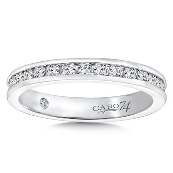CARO 74 Eternity Band (Size 6.5) in 14K White Gold (0.76ct. tw.)