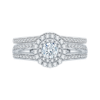 Promezza 14 K White Gold Promezza Engagement Ring