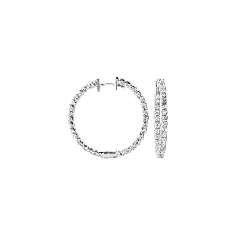 S. Kashi  & Sons Hoop Earring 30mm