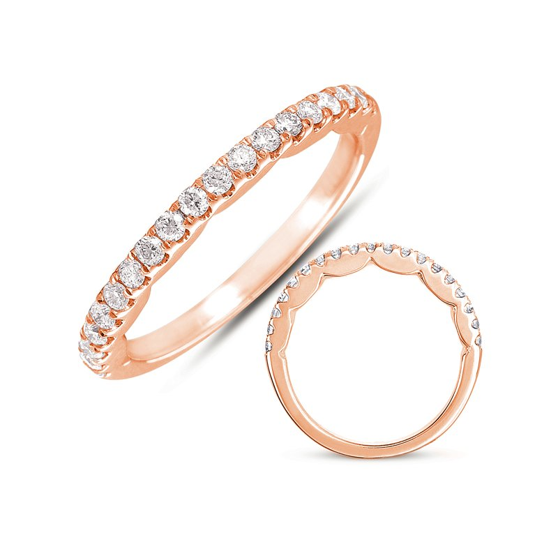 S. Kashi & Sons Bridal Rose Gold Band
