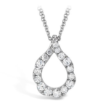 1 ctw. Lorelei Crescent Diamond Pendant
