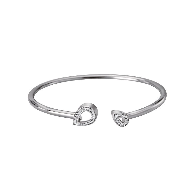 Eleganza Ladies Diamond Cuff
