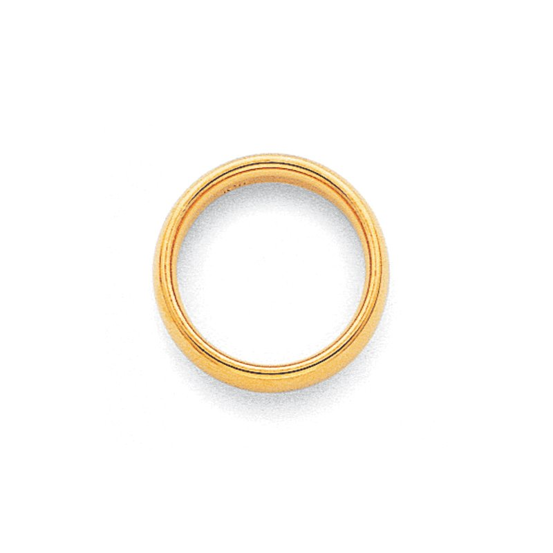 Quality Gold 10KY 3mm Standard Comfort Fit Band Size 10