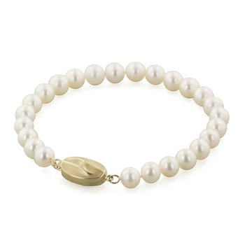 "Cultured Pearl 7"" Bracelet"