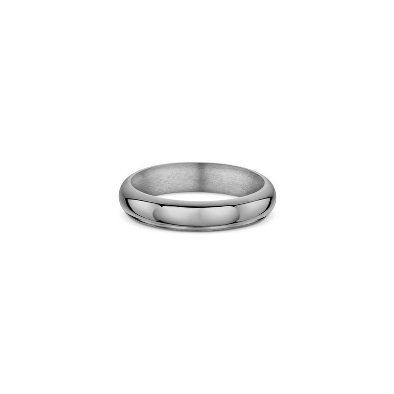 Dora 5mm Half Round Heavy Wedding Band