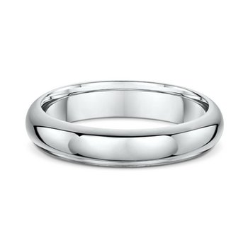 5mm Half Round Heavy Wedding Band