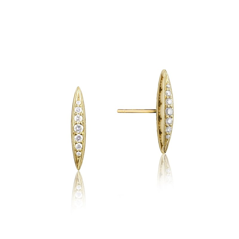 Tacori Fashion Surfboard Stud Earring
