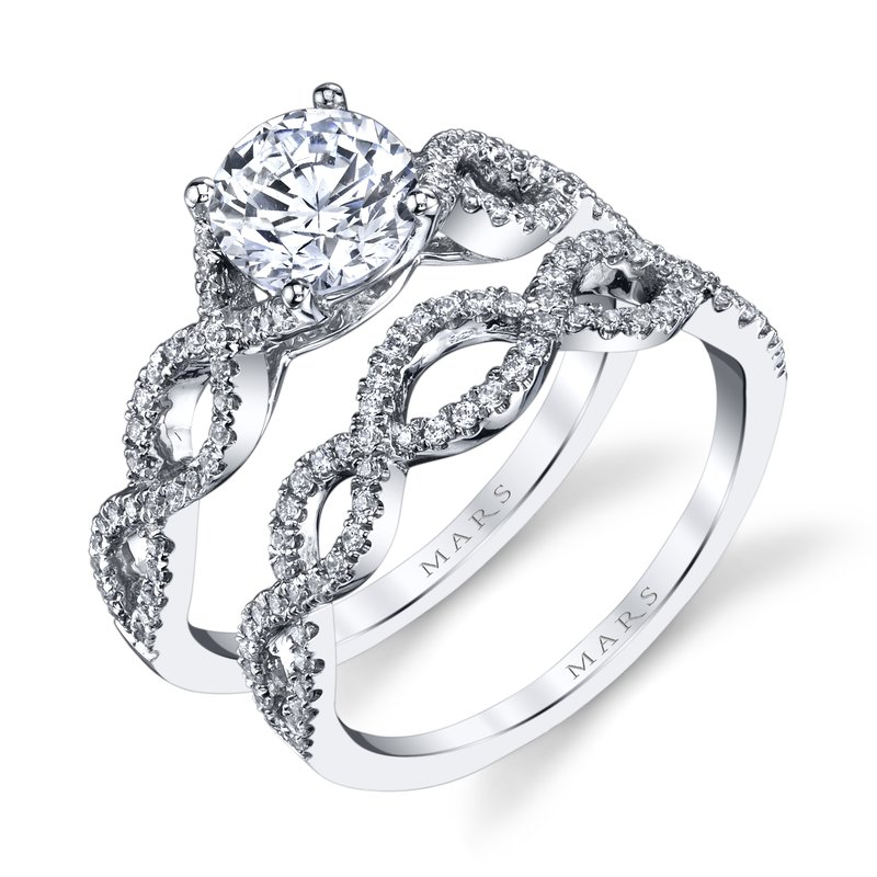 MARS Jewelry - Engagement Ring 25162E