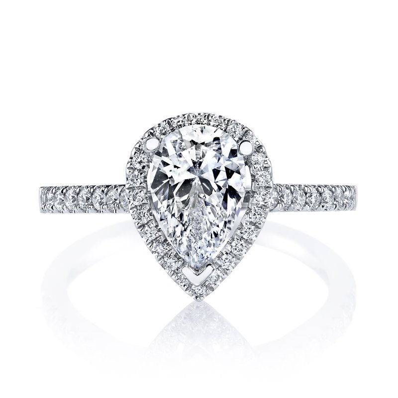 MARS Jewelry MARS 26502 Diamond Engagement Ring 0.28 Ctw.