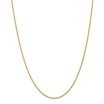 Leslie's 14K 2.0mm Solid Rope Chain