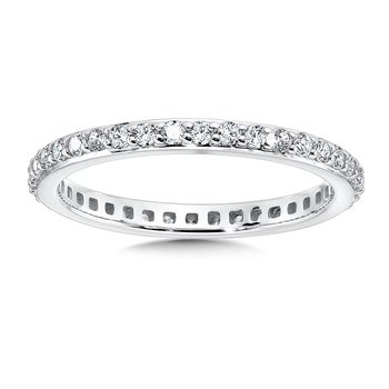 Diamond Eternity Band in 14K White Gold