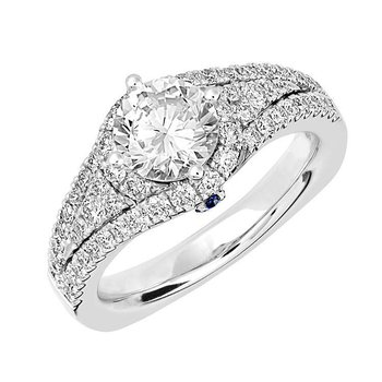 Bridal Ring-RE12646W10R