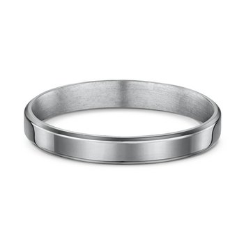 3mm Flat-Bevel Light Wedding Band