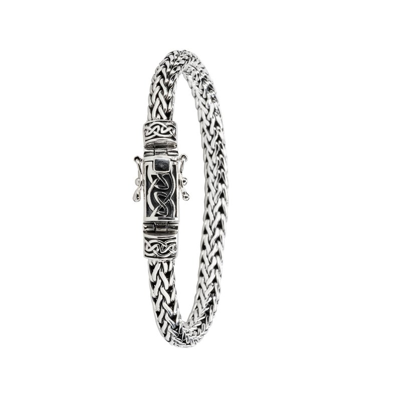 Keith Jack Dragon Weave Eternity Bracelet