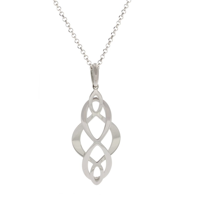 Frederic Duclos Celtic Swirl Necklace