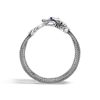 Legends Naga Multi Row Bracelet in Silver
