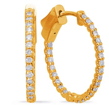 0.80 Inch Securehinge Hoop EarrIng