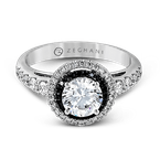 Zeghani ZR1054 ENGAGEMENT RING