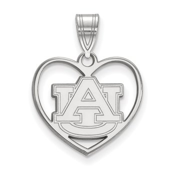 Sterling Silver Auburn University NCAA Pendant