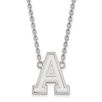 Sterling Silver U.S. Military Academy NCAA Necklace