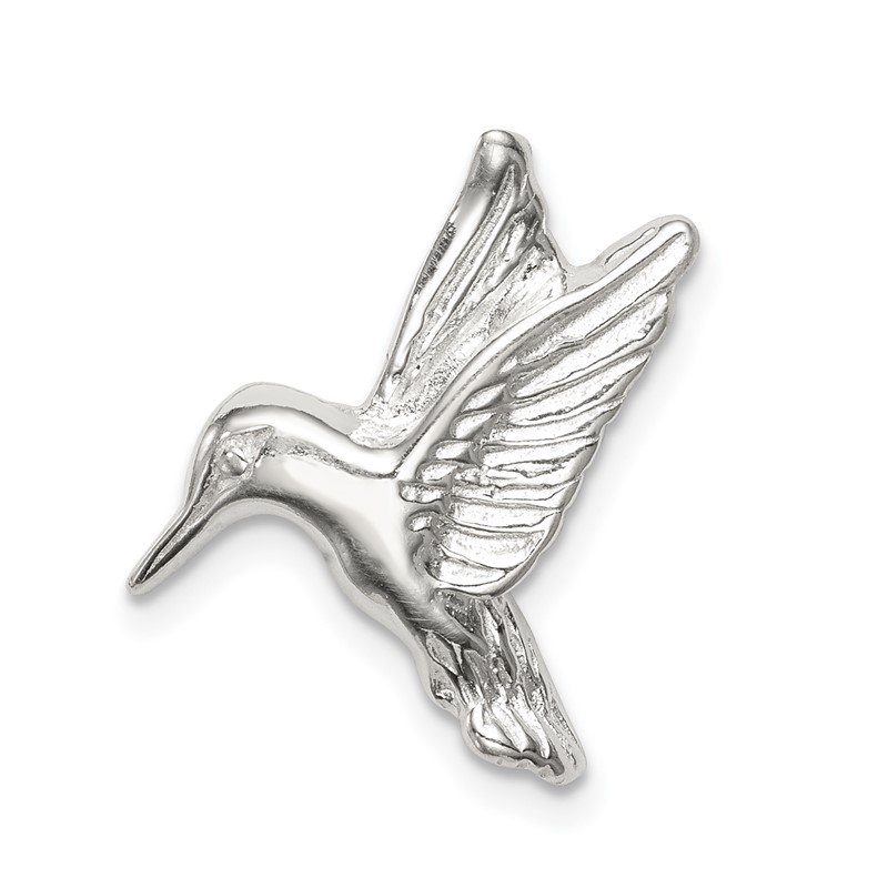 Quality Gold Sterling Silver Hummingbird Charm