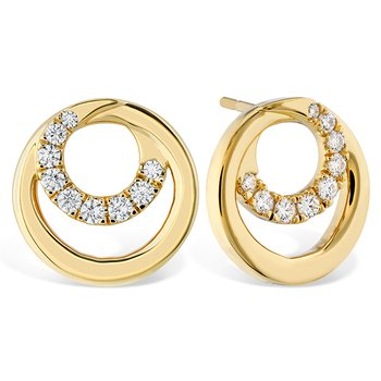 0.39 ctw. Optima Circle Earrings
